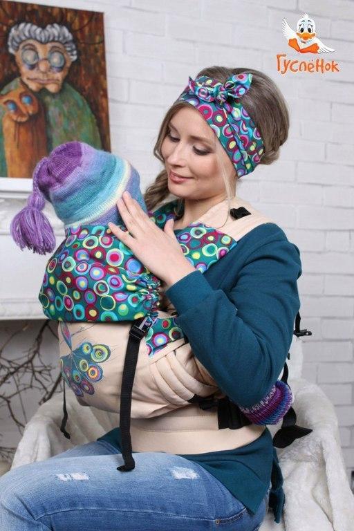 слинг-рюкзак жар птица